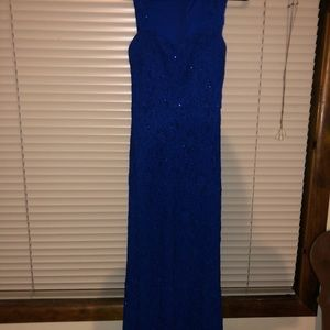 Dark Blue Prom/Event Dress